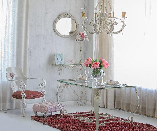 Ambiente diseño en forja Mejias, arte, elegancia y dulzura
