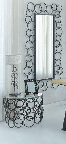 Espejo de forja diseño