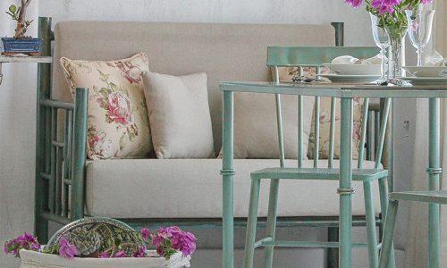 Sofa diseño en forja de hiero
