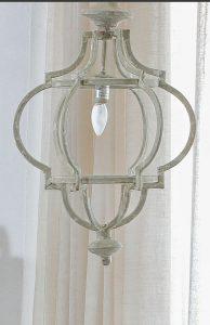 Lámpara de diseño en forja
